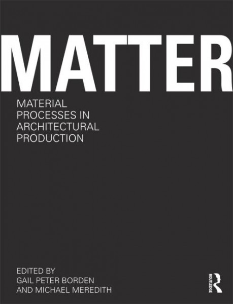 MATTER book cover preview